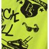 Chlapecké tričko CANGURO SKATEBOARD neon