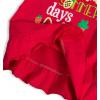 Dívčí tričko KNOT SO BAD HOLIDAYS červené