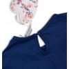 Dívčí bavlněné šaty KNOT SO BAD FASHION modré