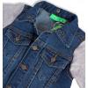 Chlapecká džínová bunda KNOT SO BAD JEANS STYLE modrá