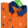 Chlapecké polo tričko KNOT SO BAD BUG oranžové