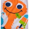Dětská letní souprava KNOT SO BAD PŘÍŠERKA oranžová