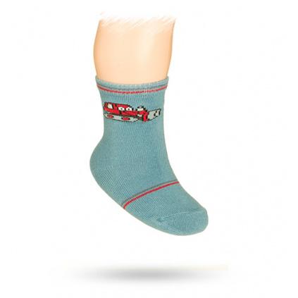 Kojenecké ponožky s obrázkem BULDOZER