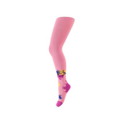Dívčí vzorované punčocháče WOLA