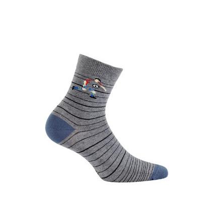 Vzorované dětské ponožky GATTA FOTBALISTA
