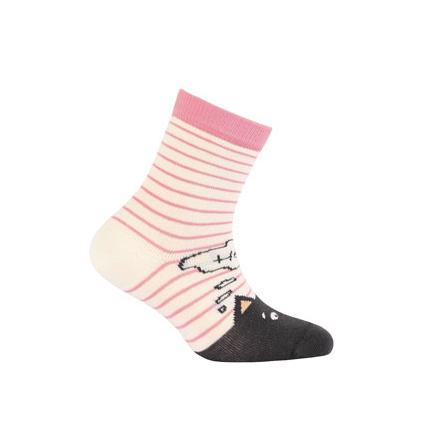 Dívčí vzorované ponožky WOLA KOČKA