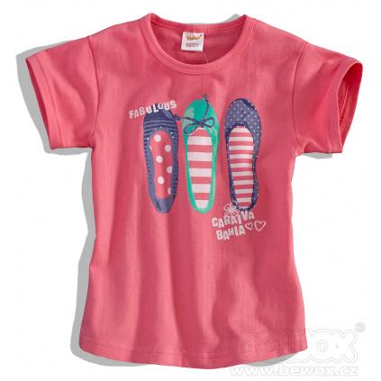 Dětské tričko Dirkje FABULOUS růžové