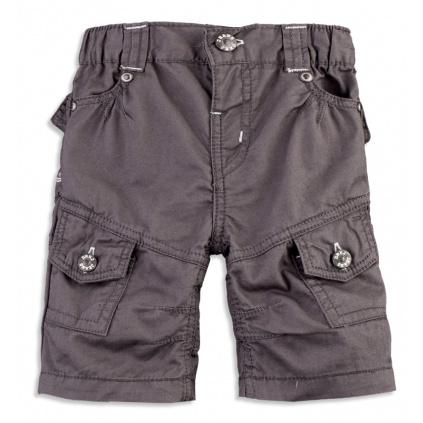 Chlapecké šortky DIRKJE CARGO tmavě šedé
