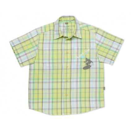 Dětská košile krátký rukáv TUP TUP zelená