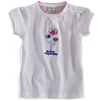 Kojenecké dívčí tričko PEBBLESTONE