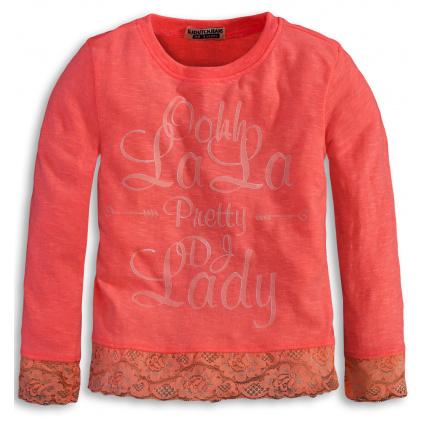 Dívčí triko DIRKJE LALA oranžové