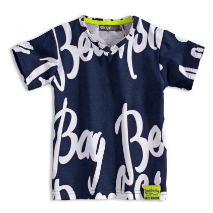 Dětské tričko DIRKJE BEACH tmavě modré