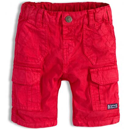 Chlapecké šortky PEBBLESTONE OCEAN BEACH červené