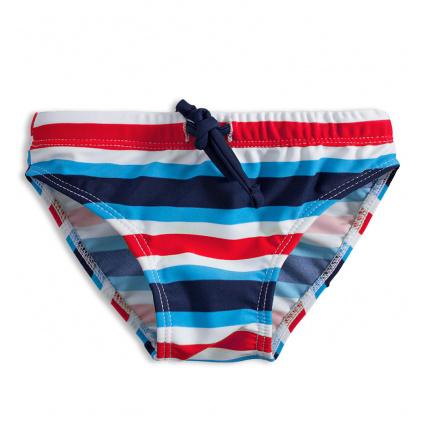 Chlapecké plavky KNOT SO BAD PROUŽKY červené