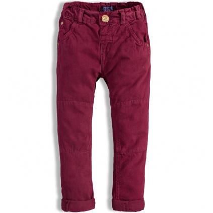 Chlapecké kalhoty MINOTI AUTO vínové