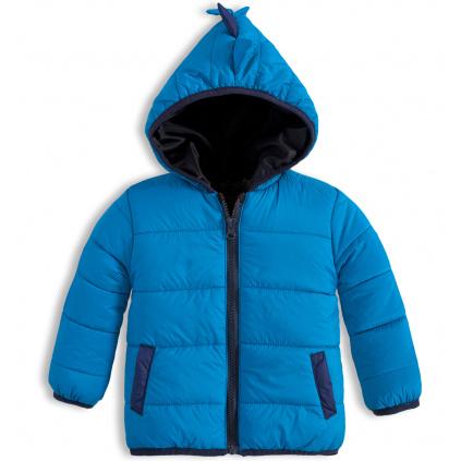 Dětská prošívaná bunda KNOT SO BAD ANIMALS modrá