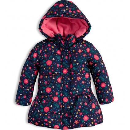 Dětská zimní bunda LOSAN KYTIČKY modrá