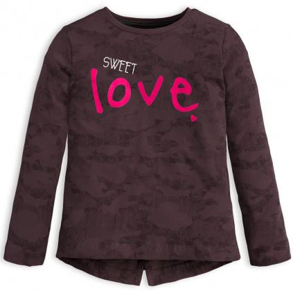 Dívčí triko KNOT SO BAD SWEET LOVE šedé