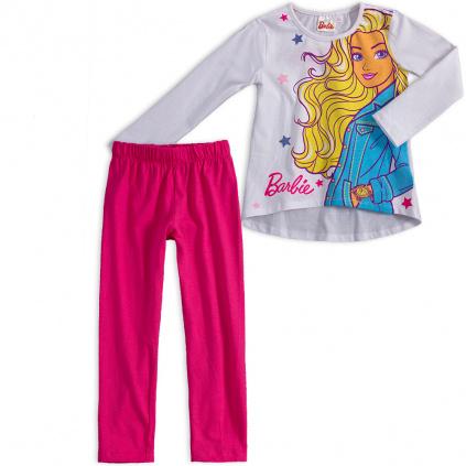 Dívčí pyžamo BARBIE CHIC bílé