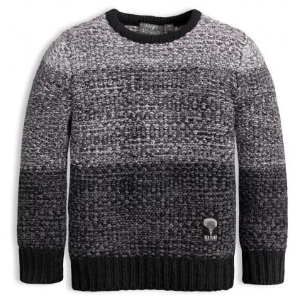 Chlapecký svetr KNOT SO BAD RUSH šedý
