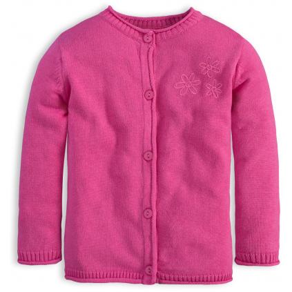 Dívčí svetr KNOT SO BAD HORTENSIA růžový