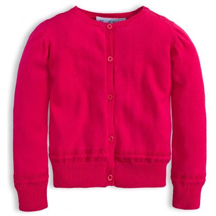 Dívčí svetr KNOT SO BAD ROSE růžový