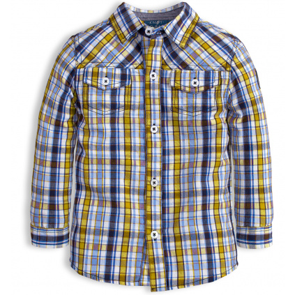 Chlapecká košile KNOT SO BAD EASY žlutá