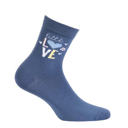 Dívčí ponožky GATTA LITTLE LOVE modré