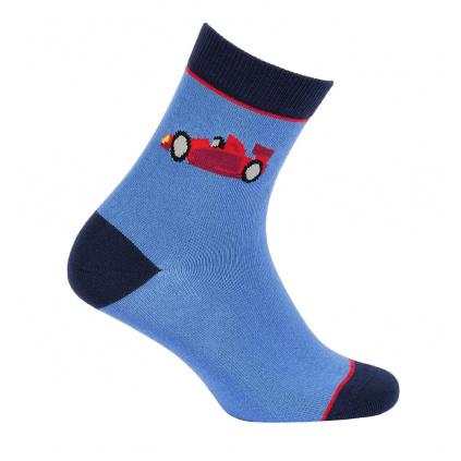 Chlapecké vzorované ponožky GATTA FORMULE modré