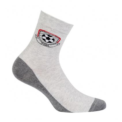 Chlapecké ponožky se vzorem GATTA GÓL šedé
