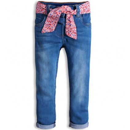 Dívčí kalhoty MINOTI PRETTY modré