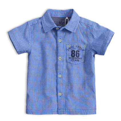 Dětská košile KNOT SO BAD FREE STYLE světle modrá