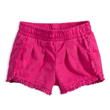 Dívčí šortky KNOT SO BAD růžové