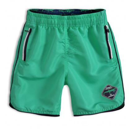 Chlapecké koupací šortky KNOT SO BAD DANGER zelené