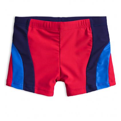 Chlapecké plavky KNOT SO BAD DIVING červené