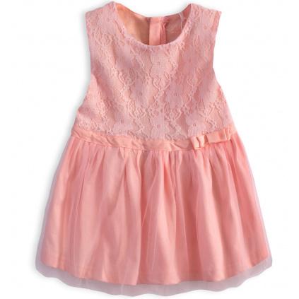 Dívčí šaty KNOT SO BAD CELEBRATE růžové