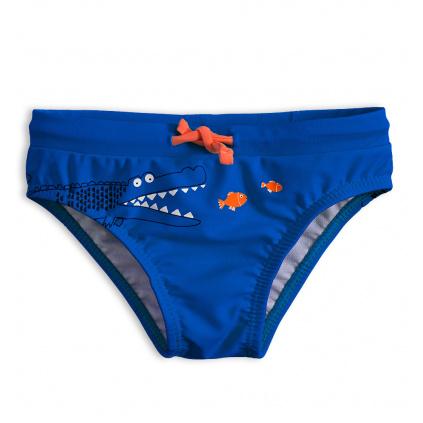 Dětské plavky Knot So Bad KROKODÝL modré