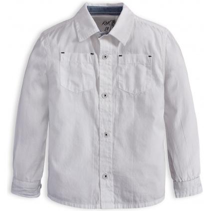Chlapecká košile Knot So Bad SUPER bílá
