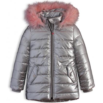 Dívčí zimní bunda LEMON BERET PURPOSE stříbrná