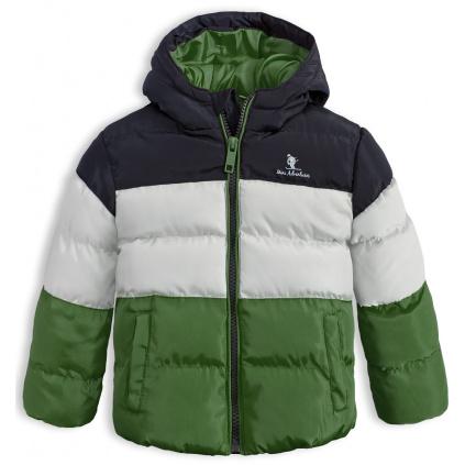 Dětská zimní bunda LEMON BERET MINI ADVENTURES zelená