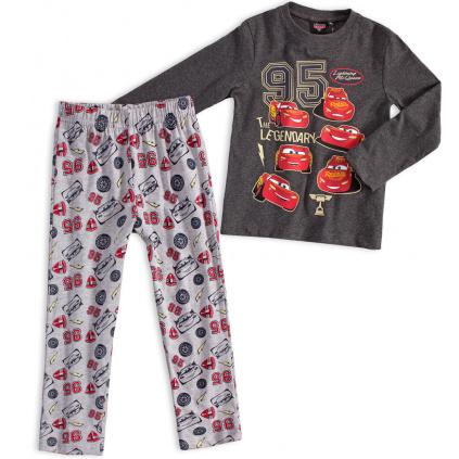 Chlapecké pyžamo DISNEY AUTA LEGENDARY šedé