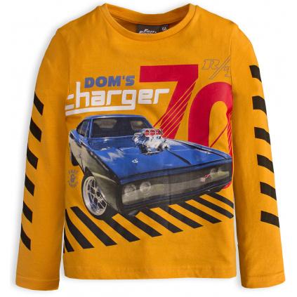 Chlapecké triko CHARGER žluté