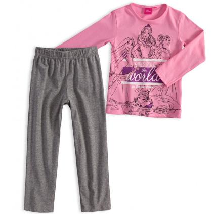 Dívčí pyžamo DISNEY PRINCESS růžové