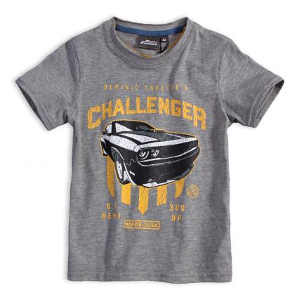 Chlapecké tričko CHALLENGER šedé