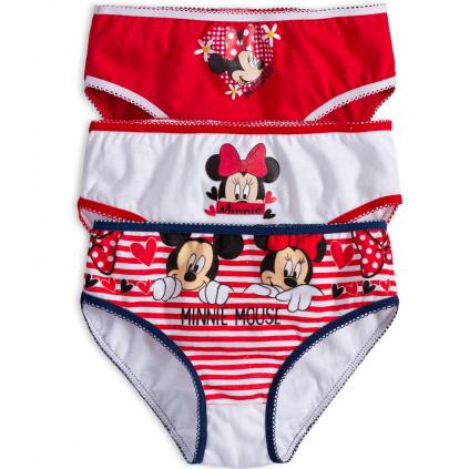 Dívčí kalhotky DISNEY MINNIE červené