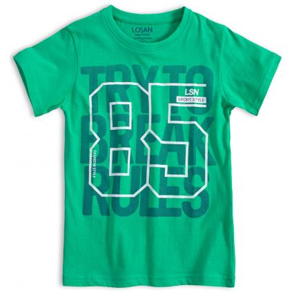 Chlapecké tričko LOSAN SPORT STYLE zelené