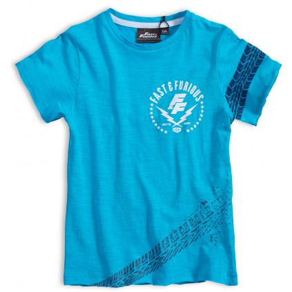 Chlapecké tričko TIRE tyrkysové