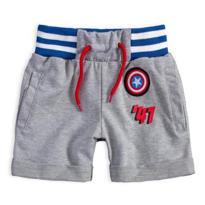 Chlapecké šortky MARVEL COMICS šedé