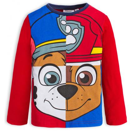 Chlapecké tričko PAW PATROL červené