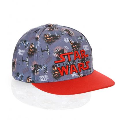 Chlapecká kšiltovka STAR WARS červený kšilt
